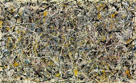 Composición Nº1, Pollock, 1950