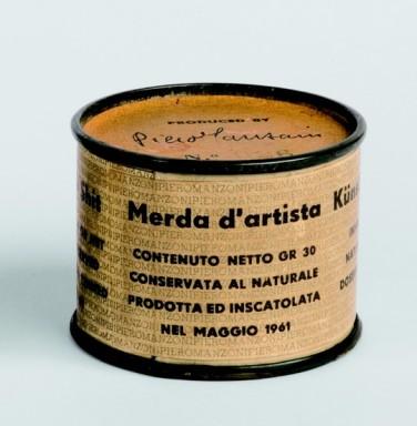 Piero Manzoni, Merda d'Artista numero 26, 1961. Courtesy: Fondazione Piero Manzoni, Milano © Fondazione Piero Manzoni.