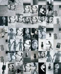 Secuencias Edipianas, 1975-1976 (fragmento). Fotomontaje de Luis Gordillo
