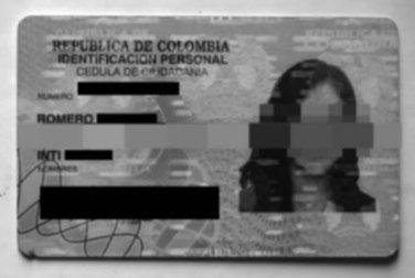 Intimidad Romero - Identificacion nacional