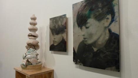 Tom Gidley, The Abundant Throat, Galerie Diana Stigter, 2012. Foto: Camilayelarte
