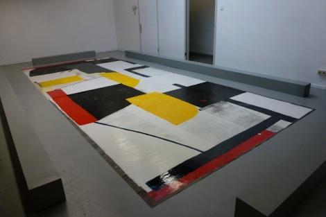 Leidy Churchman, Rijksakademie Open Studio 2012, Amsterdam. Foto: Camilayelarte
