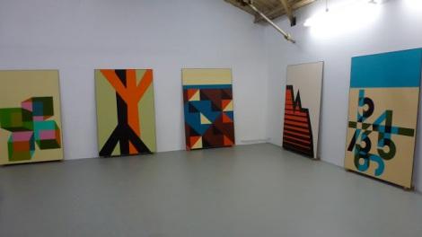 Thomas Raat, Rijksakademie Open Studio 2012, Amsterdam. Foto: Camilayelarte