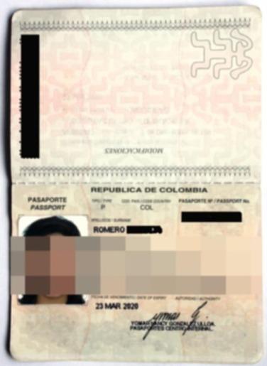 Intimidad Romero -Pasaporte