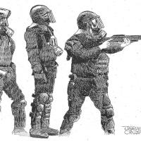 Jorge Cruz, un dibujo sin fronteras materiales