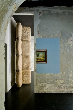 Cristian Bugatti, exhibition view at Motelsalieri Roma, 2010. Courtesy: Cristian Bugatti.
