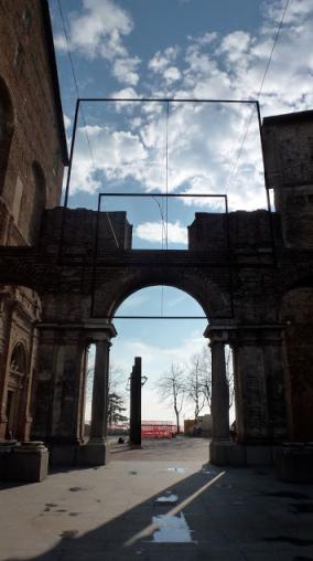 Luciano Fabro, Paolo Uccello, Castello di Rivoli, 2013. Foto: Camilayelarte