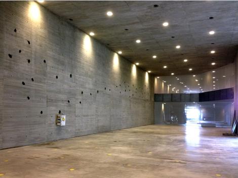 Vista interior de una de las salas del Espacio Andaluz de Creación Contemporánea. Foto: Ars Operandi