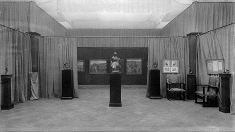 Exposición inaugural de la segunda etapa de la Sala Parés (1925)