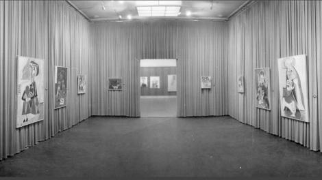 Exposición de Picasso a la Sala Gaspar (1960)