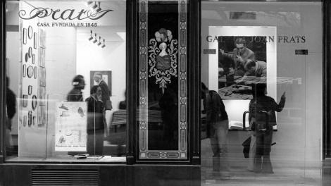 Inauguració de l'exposició Presència de Joan Prats a la galeria Joan Prats_1976
