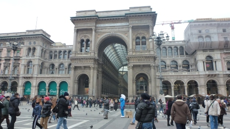 Galleria Vittorio Emanuele II, Milán, 2013. Foto: Camilayelarte