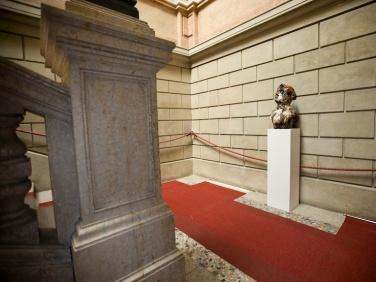 Cristian Bugatti, S come senzatitolo, 2009, installation view at Museo Faraggiana, Novara. Courtesy: Cristian Bugatti.
