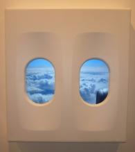 """Leandro Erlich, """"El avión"""" (2011)."""
