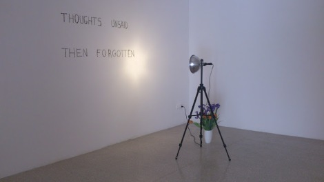 Bas Jan Ader, Thoughts unsaid, then forgotten, 1973. Foto: Camilayelarte