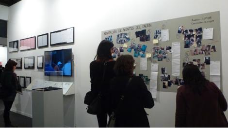 Núria Güell. Galeria adn. ARCO 2013. Foto: Camilayelarte