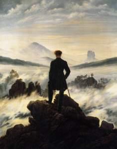 Friedrich: El caminante sobre el mar de nubes