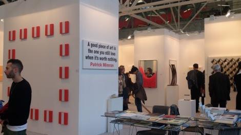 Galerie Dorothea V. D. Koelen (Mainz). Arte Fiera Bologna, 2013. Foto: Camilayelarte