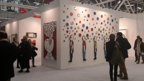Fabrizio Dusi en Galería Flora Bigai (Pietrasanta). Arte Fiera Bologna, 2013. Foto: Camilayelarte