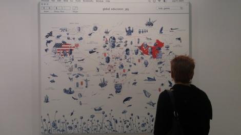 Giuseppe Stampone, Giochi per bambini, 2012, PrometeoGallery (Milano). Arte Fiera Bologna, 2013. Foto: Camilayelarte