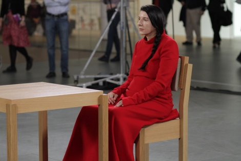Marina Abramovic, cortesía de Show of Force