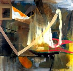 Sin título [Ohne Titel] (1993). Óleo sobre lienzo, 200 x 200 cm.